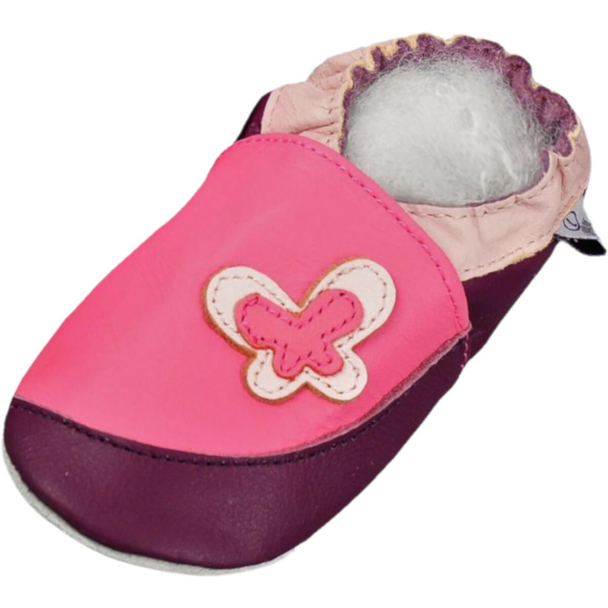 Kinder,Baby Schuhe,Krabbelschuhe,Lauflernschuhe,Lila,Rosa,Pink,Gr 22,23,24